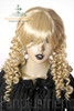 Last Chance: Victorian Lolita/Aristocrat Gothic:Small Vertical Curls Coil Wig*Blonde
