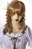 Last Chance: Victorian Lolita/Aristocrat Gothic:Small Vertical Curls Coil Wig*Blonde Mix