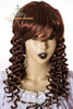 Last Chance: Victorian Lolita/Aristocrat Gothic:Small Vertical Curls Coil Wig*Chocolate
