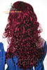 Last Chance: Gothic Lolita:Large Wavy Curls Long Wig*Wine Red