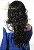 Last Chance: Gothic Lolita:Large Wavy Curls Long Wig*Black