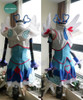 Yu-Gi-Oh! VRAINS Cosplay, Blue Angel Aoi Zaizen Costume Set