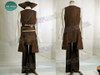 Pirates of the Caribbean (Movie) Cosplay, Captain Jack Sparrow Costume Outfit