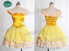 Disney Beauty and the Beast Inspired Cosplay Belle Costume Outfit*2colors