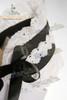 Detail View (black + white lace version)