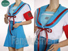 The Melancholy of Haruhi Suzumiya Cosplay, Haruhi Suzumiya School Uniform Set*Short Sleeves Version