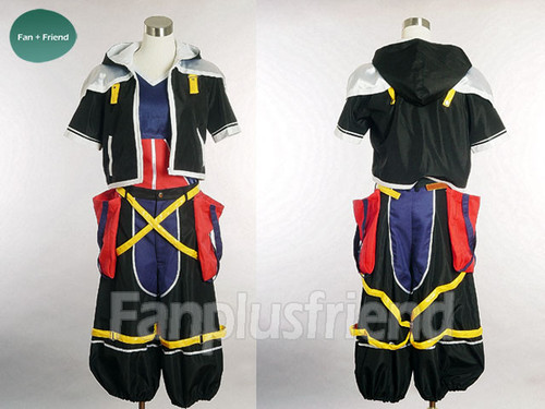 Kingdom Hearts Cosplay, Sora's Black Costume Set