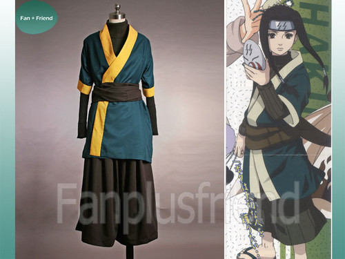 Naruto Cosplay, Haku anbu costume set