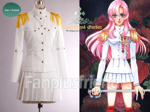 Revolutionary Girl Utena Cosplay, Utena Tenjou, White Duelist Costume