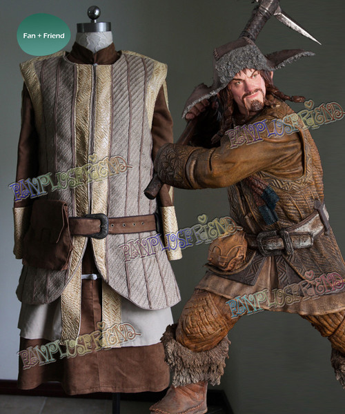The Hobbit: An Unexpected Journey (Movie) Cosplay, Bofur the Dwarf Costume Outfit