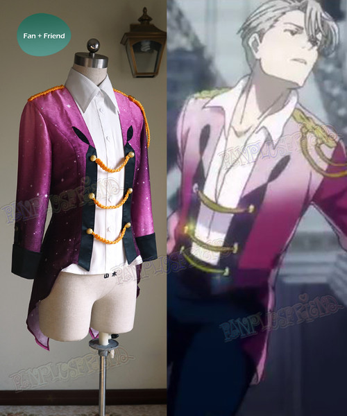 Yuri!!! on Ice Cosplay, Viktor Nikiforov Uniform Costume