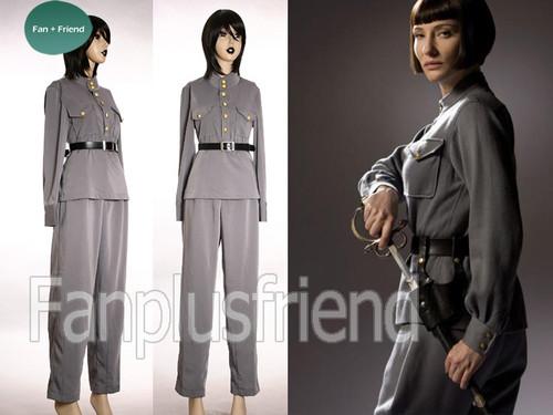 Indiana Jones and the Kingdom of the Crystal Skull Cosplay, Irina Spalko Army Uniform