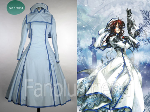 Trinity Blood Cosplay, Sister Esther Blanchett Costume