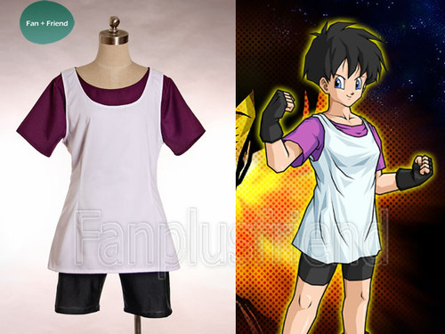 Dragon Ball Cosplay, Videl Costume