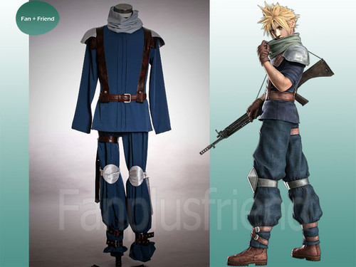 Final Fantasy Cosplay, Crisis Core Cloud Suit