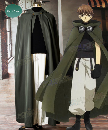 Tsubasa Reservoir Chronicles Cosplay Syaoran Costume Outfit