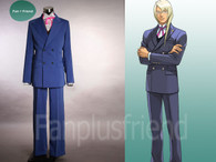 Cosplay Costume Suit, Kristoph Gavin from the video game Phoenix Wright