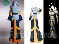 WOW / World of Warcraft Cosplay, Tier FIVE and PRIEST Costume Dress