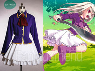 Illya Costume Set, Fate Hollow Ataraxia Cosplay