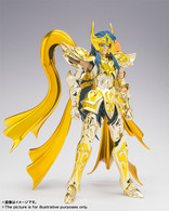 Saint Seiya Myth EX Aquarius Camus (God Cloth) Action Figure