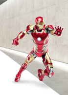 Iron Man Mark 43 1/12 Collectible Premium Figure