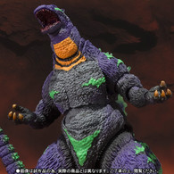S.H.MonsterArts Godzilla feat.EVA-01 Action Figure