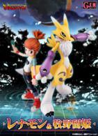 G.E.M.DigimonTamers Renamon & Doujinshi Ruki PVC Figure
