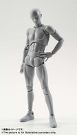 S.H.Figuarts Body-kun DX Set (Gray Color Ver.) Action Figure ( IN STOCK )