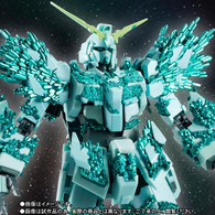 Robot Spirits SIDE MS Unicorn Gundam (Crystal Body Ver.) Action Figure
