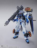 METAL BUILD Gundam ASTRAY BLUE FRAME Full Weapons