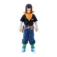 Dimension of DRAGONBALL Android No.17 PVC Figure
