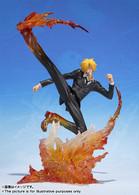 Figuarts Zero Sanji -Diable Jambe Premiere Asch- PVC Figure