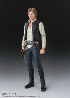 S.H.Figuarts Han Solo (A New Hope) Action Figure