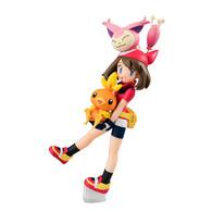 G.E.M. Series Pokemon (Haruka & Torchic & Skitty) PVC Figure