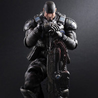 Gears of War Play Arts Marcus Fenix Action Figure
