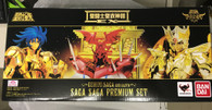 Saint Seiya Cloth Myth EX Saga Premium Set Action Figure