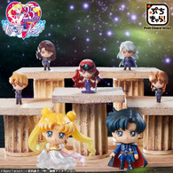 Petit Chara! Pretty Guardian Sailor Moon Dark Kingdom SET PVC Figure