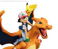G.E.M. Series Pokemon (Ash Ketchum & Pikachu & Charizard) PVC Figure