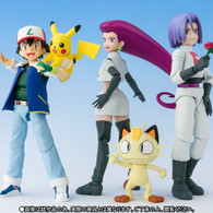 S.H.Figuarts (Ash Ketchum & Team Rocket) Limited Edition Action Figure