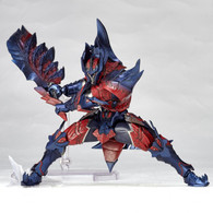 Vulcanlog 019 Monhan Revo Hunter Man of the Sword Glavenus Series Action Figure
