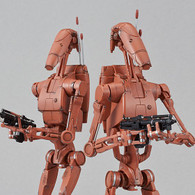 1/12 Battle Droid (Geonosis Color) Set Plastic Model