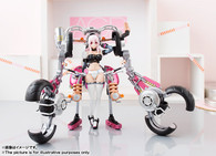 Armor Girls Project Super Sonico with Super Bike Robo (10th Anniversary) Action Figure