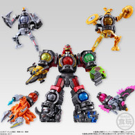 Mini Pla Combine Series SP01 Kyurenoh Glister Injection Ver. (Set of 10)