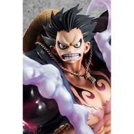 Portrait.Of.Pirates One Piece SA-MAXIMUM Monkey D Luffy Gear 4 [Hazumu Otoko] 1/8 PVC Figure