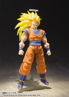 S.H.Figuarts Super Saiyan 3 Son Goku Action Figure ( New 2017 )