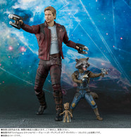 S.H.Figuarts Star-Lord & Rocket & Baby Groot (Guardians of the Galaxy: Remix) Action Figure