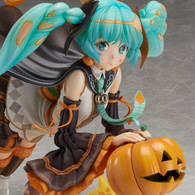 Hatsune Miku [Trick or Miku] Illustration by Hidari PVC Figure (Completed)
