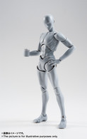 S.H.Figuarts Body-kun Rihito Takarai Edition DX SET (Gray Color Ver.) (Completed) Action Figure