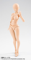 S.H.Figuarts Body-chan Kentaro Yabuki Edition (Pale Orange Color Ver.) (Completed) Action Figure
