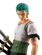 Variable Action Heroes One Piece Series Roronoa Zoro Past Blue w/Bonus Action Figure